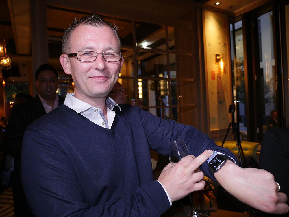 Apple Watch Winner Vince
