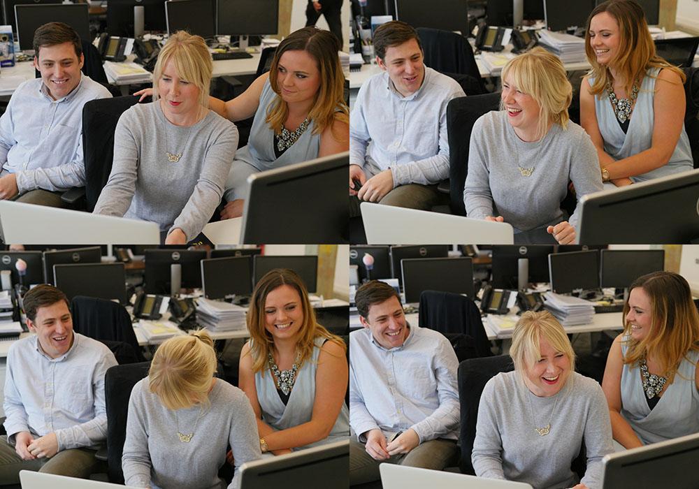 LendInvest Client Services Team- Joel, Elizabeth and Sophie