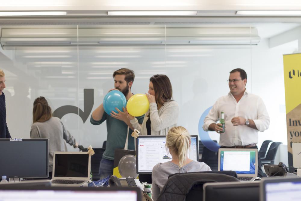 LendInvest Rebranding Party