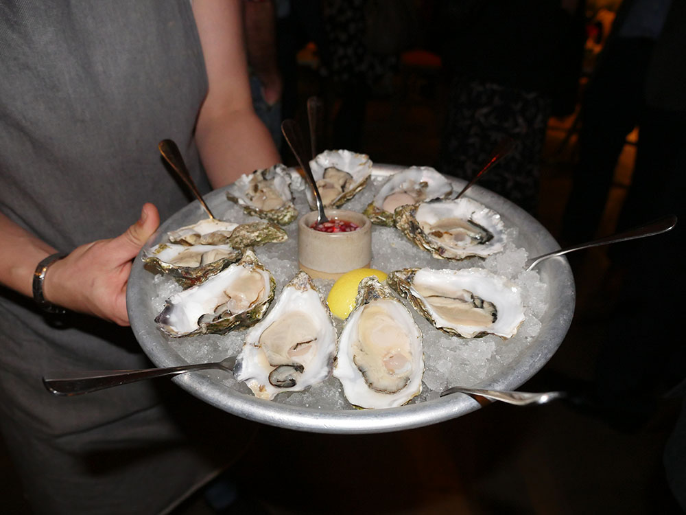 Oysters at Percy & Founders London