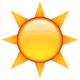 sunshine emoji