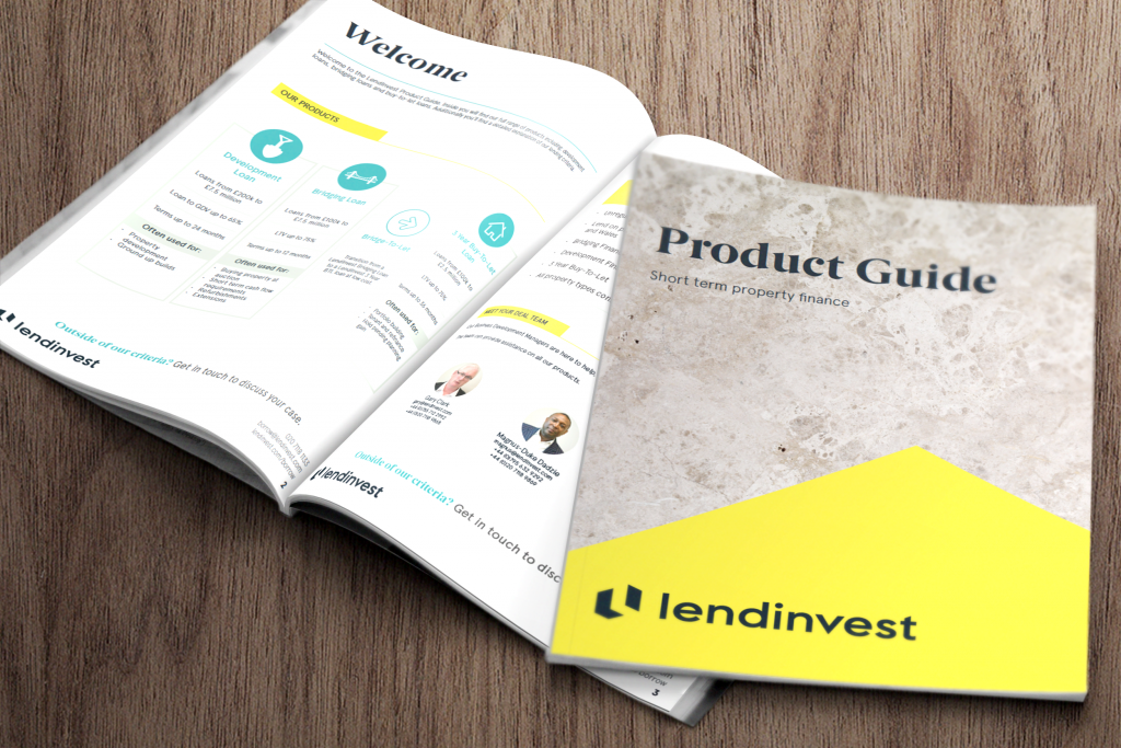 LendInvest Product Guide- Development Finance
