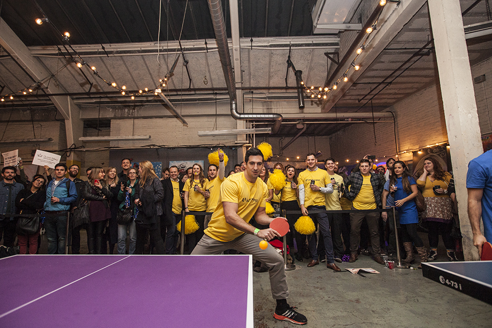 LendInvest's Jonathan Gomez, Ping Pong Fight Club