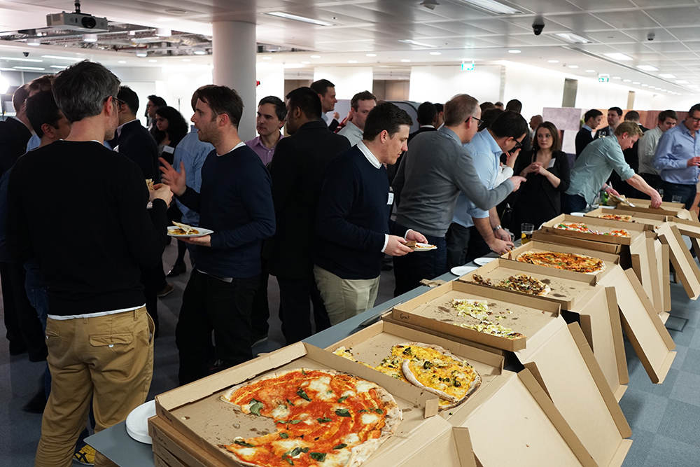 PropTech Meetup Pizzas by Homeslice