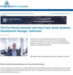 Gary Clark Five Minute Interview