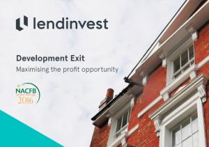 Development Exit Finance Guide
